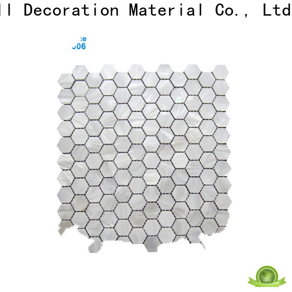 HIYOSENCE river shell mosaic tiles factory price for hotel