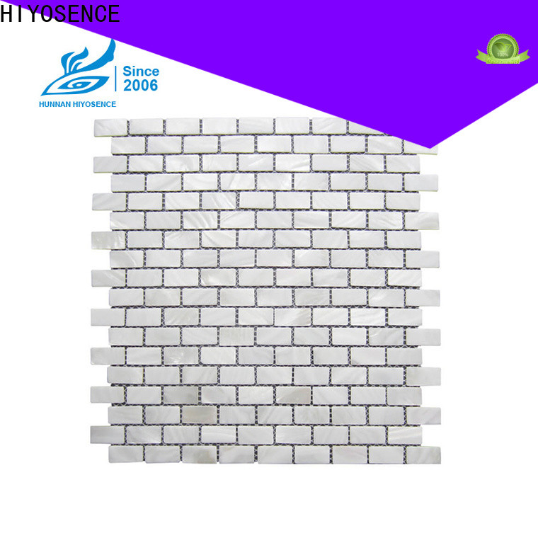 widely used pearl shell tile backsplash overseas market for decoration