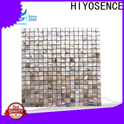 HIYOSENCE shell composite tile factory price for hotel