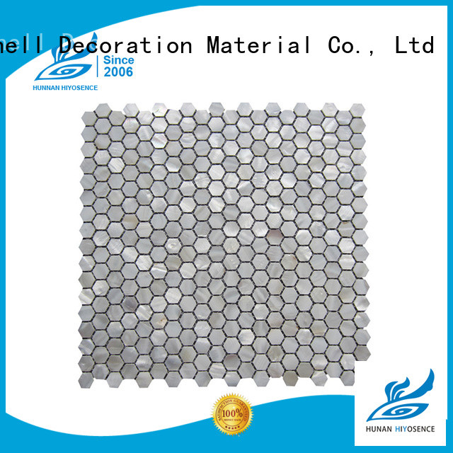 luxury white mother of pearl tile marketing for decoration