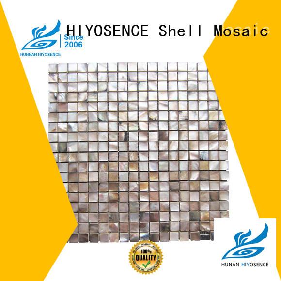 HIYOSENCE advanced technology mother of pearl splashback overseas market