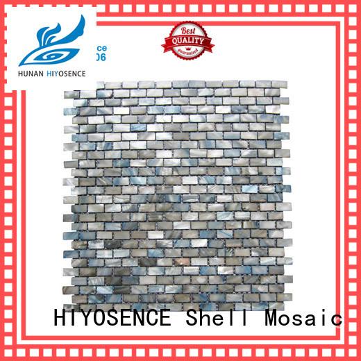 HIYOSENCE seashell mosaic overseas market for decoration