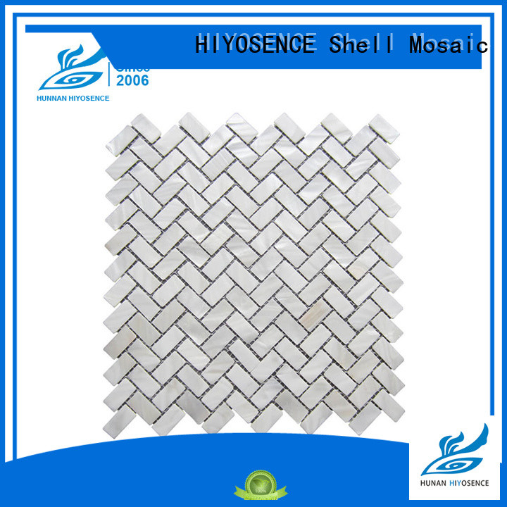 HIYOSENCE inexpensive pearl bathroom tiles for toilet