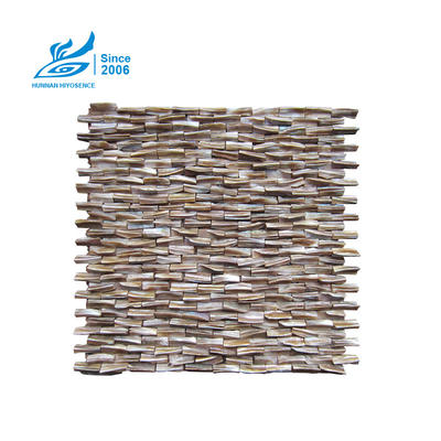 Herringbone Shell Mosaic Tiles HY1019-1020 10X30X8MM