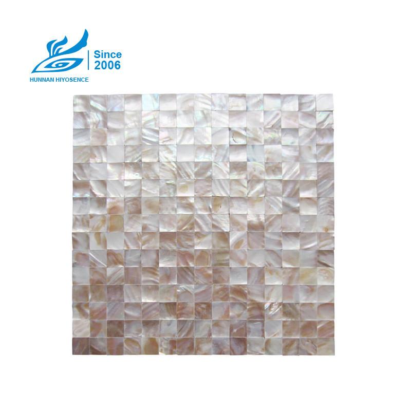 Shell Mosaic Tiles C015W 20X20X2MM