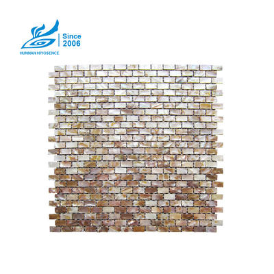 Brick Mother Of Pearl Tiles H107 10X20X2MM
