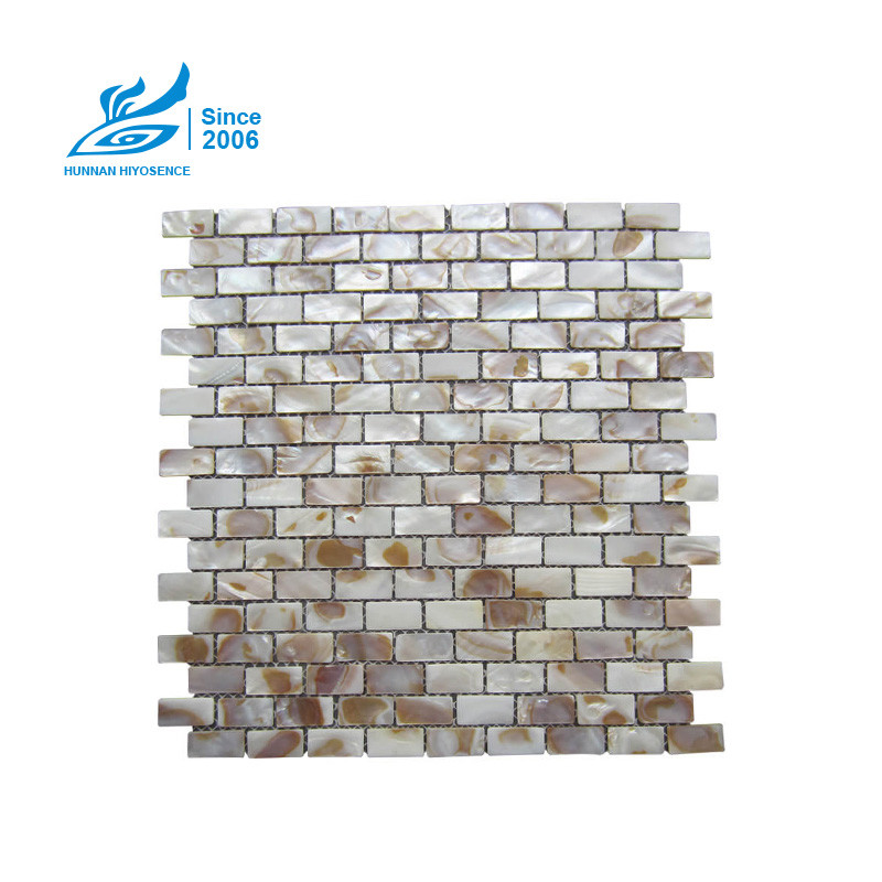 Brick Mother Of Pearl Tiles H102 15X30X2MM