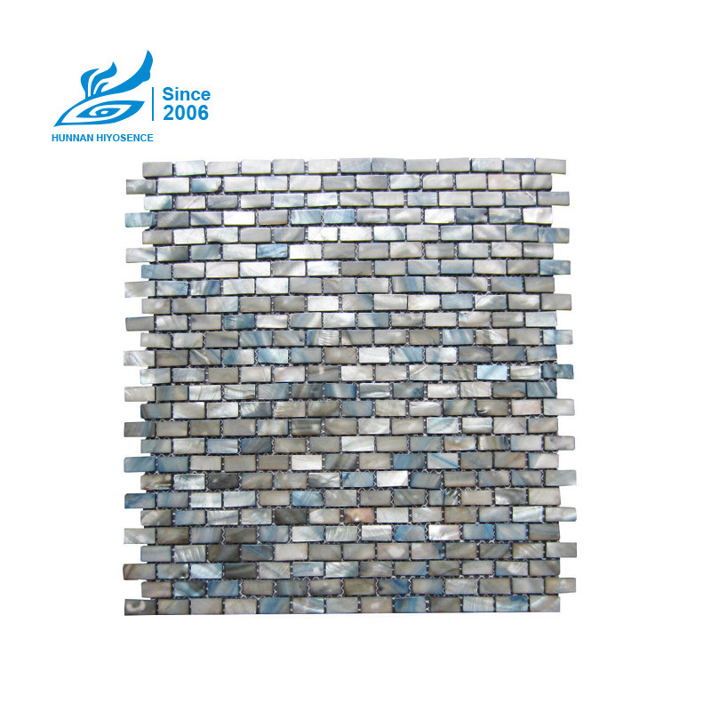 Brick Mother Of Pearl Tiles H101BK 10X20X2MM