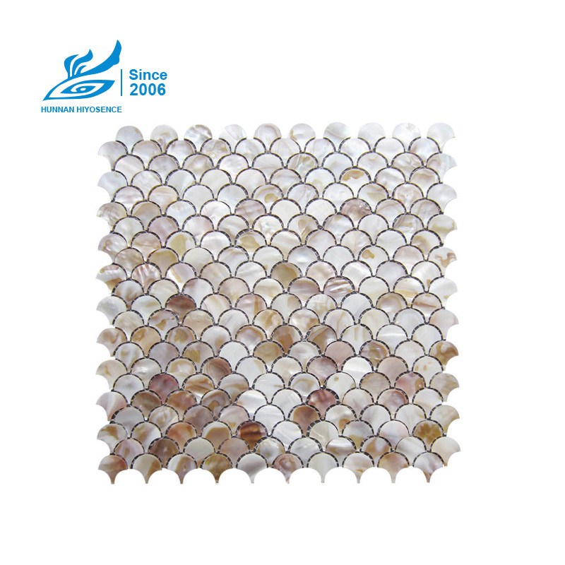 Fan Mother Of Pearl Tiles FAN002 D=25X2MM