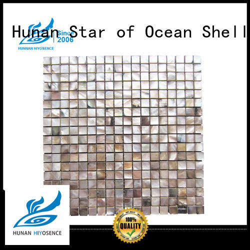 mosaic on concrete with good price for decoration HIYOSENCE