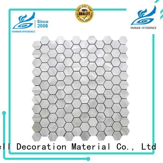 durable shell mosaic with joint marketing for hotel
