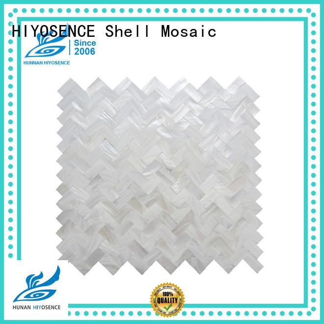 HIYOSENCE pearl kitchen tiles marketing for toilet
