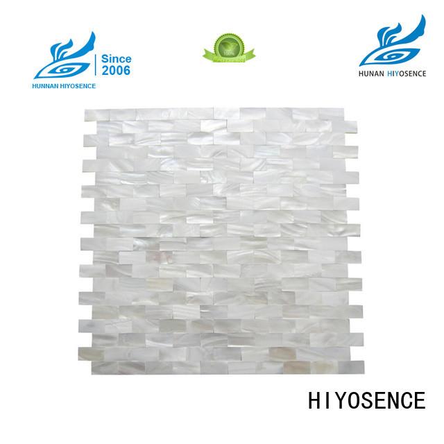 HIYOSENCE neutral mosaic tiles marketing