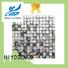HIYOSENCE mother of pearl herringbone tile marketing for decoration