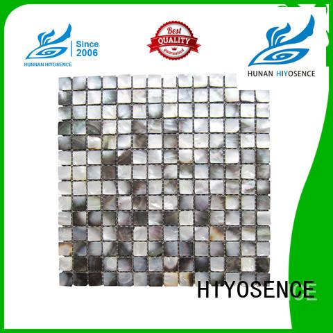 HIYOSENCE durable white mosaic tile marketing for swimming pool