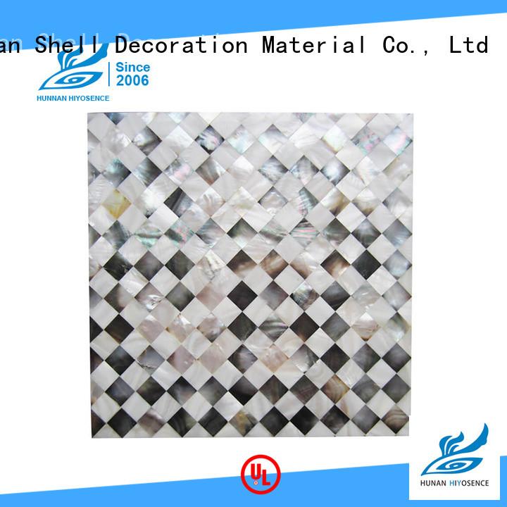 HIYOSENCE luxury shell panel factory price for hotel