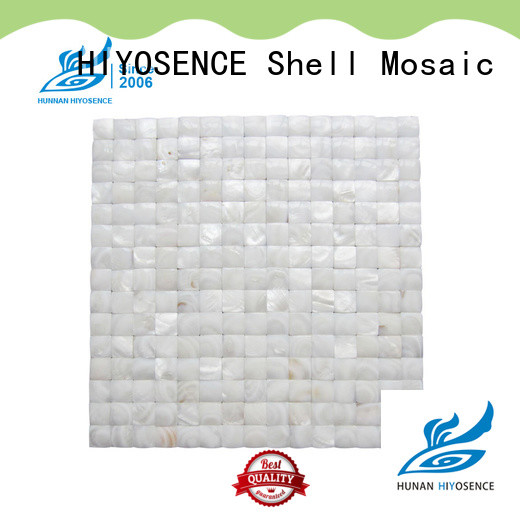 stable quality pearl glass mosaic tile overseas market for decoration