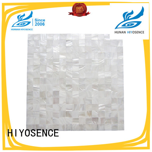 HIYOSENCE Oval mother of pearl tiles with good price for living room