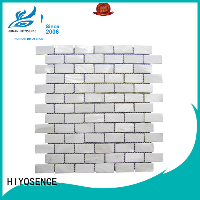 HIYOSENCE seashell tile factory price for hotel