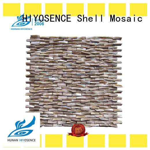 HIYOSENCE advanced technology pearl kitchen tiles marketing for living room