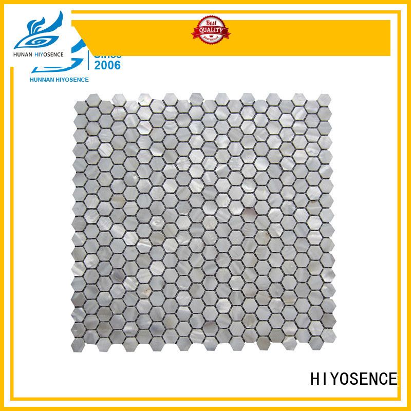 shell mosaic tile samples