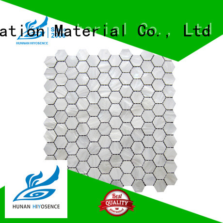 good quality white hexagon tile with good price for decoration