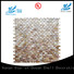 HIYOSENCE mother of pearl floor tile factory price