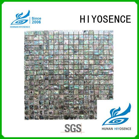 HIYOSENCE shell composite tile marketing for hotel