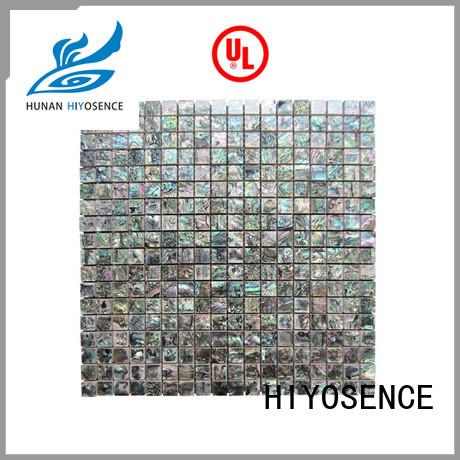 HIYOSENCE mosaic effect tiles overseas market for swimming pool