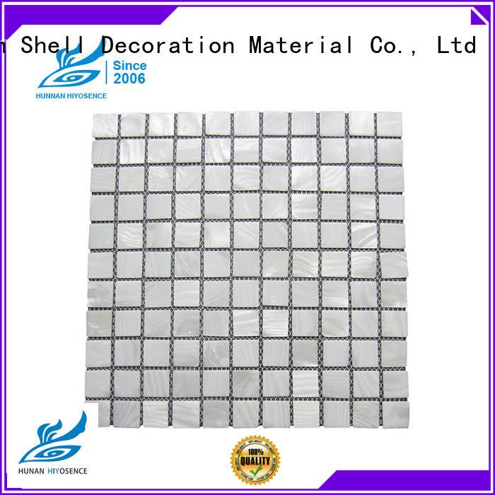 fashion design shell mosaic tile factory price for toilet