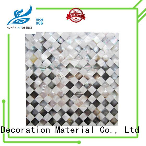 advanced technology shell tile backsplash customized for living room