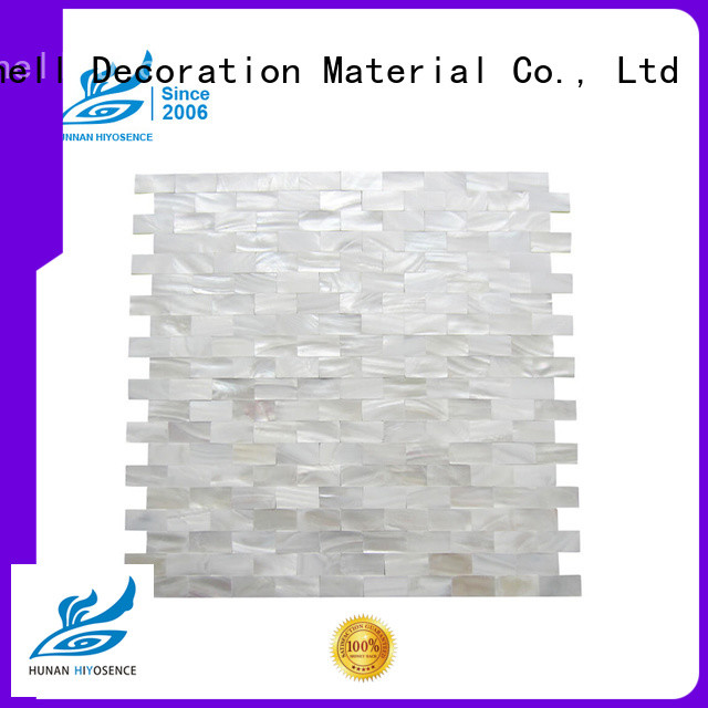 high quality Oval mother of pearl tiles with good price for toilet