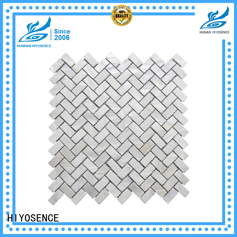 HIYOSENCE marble mosaic tile factory price for hotel