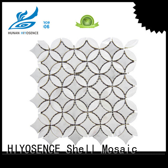 fashion shell blend marble factory price for hotel