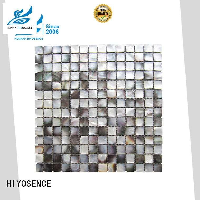 HIYOSENCE seashell mosaic overseas market for swimming pool