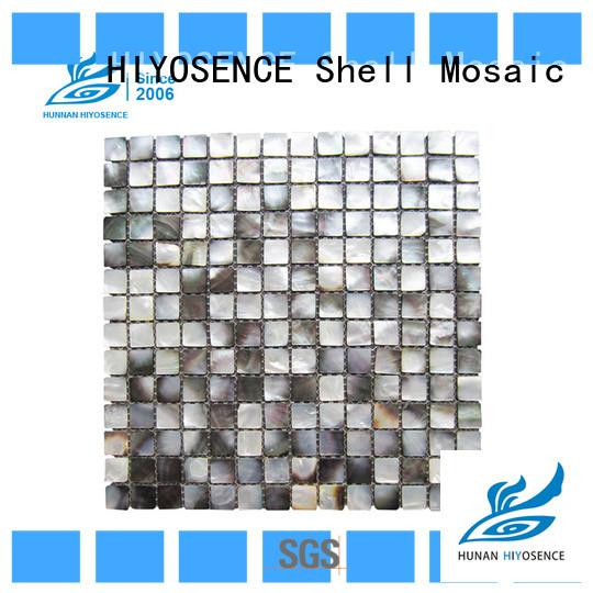 HIYOSENCE pearl mosaic tile overseas market