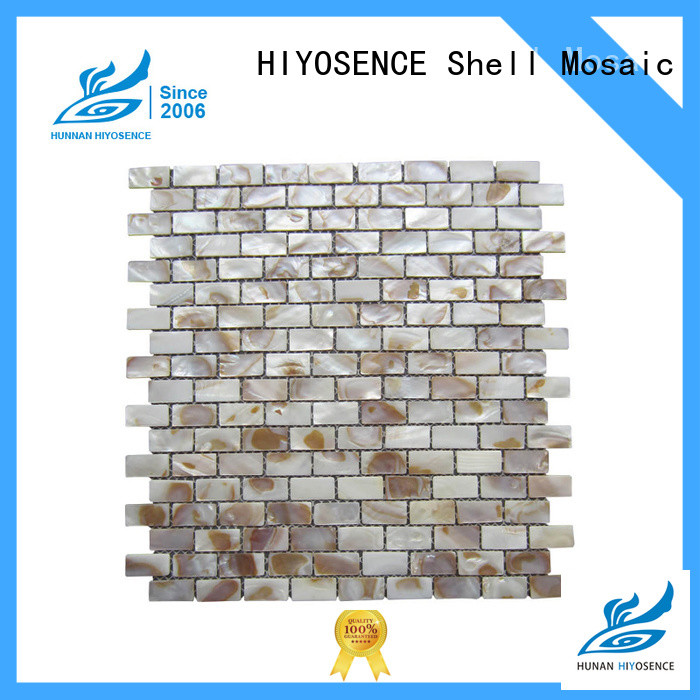 HIYOSENCE shell mosaic tile with good price for hotel