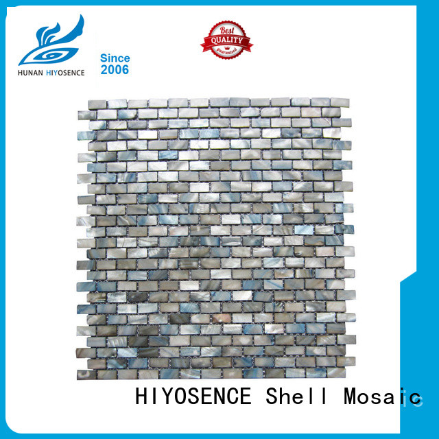 fashion design shell mosaic tile with good price for swimming pool