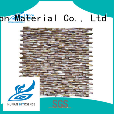 HIYOSENCE inexpensive neutral mosaic tiles with good price for hotel