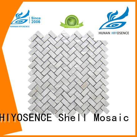 HIYOSENCE white hexagon tile with good price