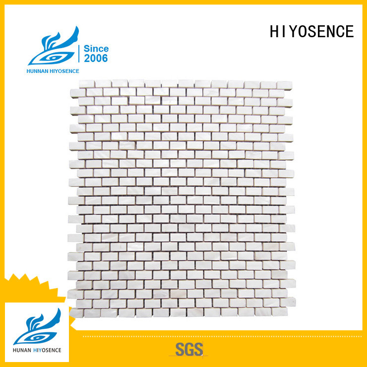 affordable price pearl white mosaic tiles overseas market for toilet