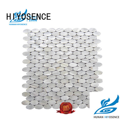 HIYOSENCE inexpensive marble mosaic tile with good price for decoration