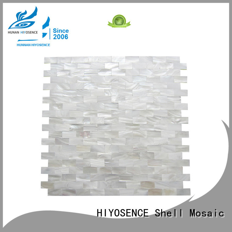 natural rhombus mother of pearl tiles overseas market for swimming pool