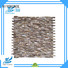 HIYOSENCE stable quality mother of pearl penny tile overseas market