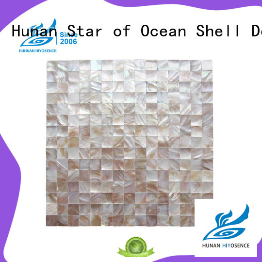 affordable price rhombus mother of pearl tiles factory price for living room