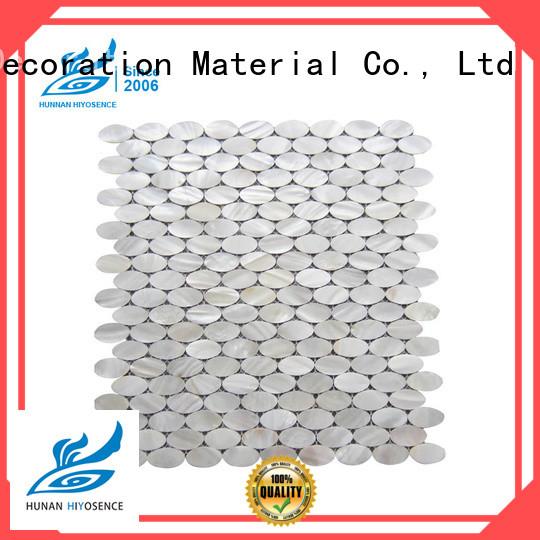 HIYOSENCE seashell tile marketing for living room