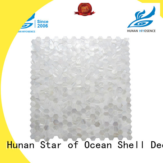 HIYOSENCE affordable price neutral mosaic tiles with good price for swimming pool