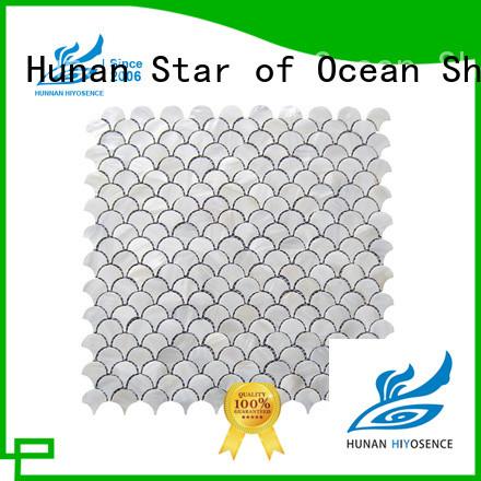 good quality pearl mosaic tile overseas market