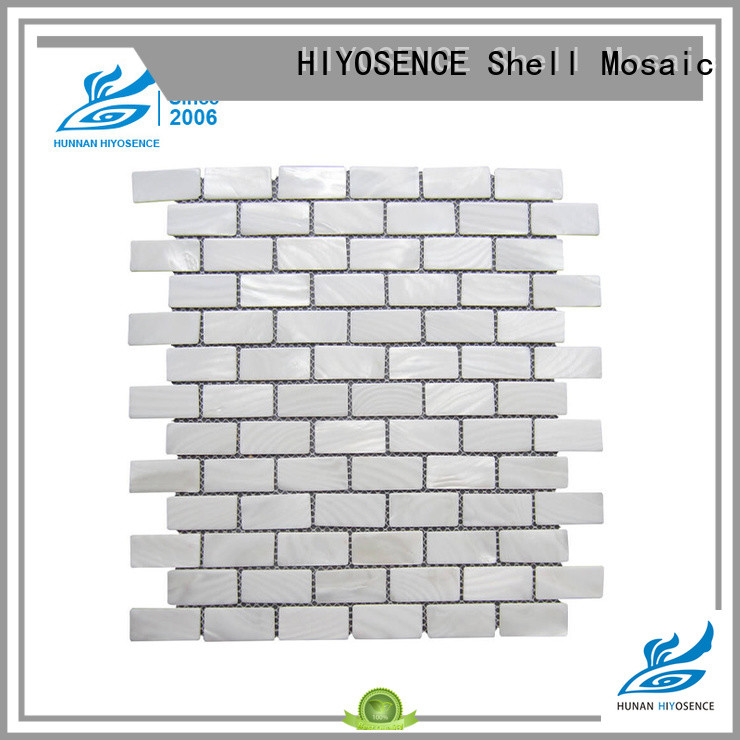 HIYOSENCE shell tile overseas market for toilet