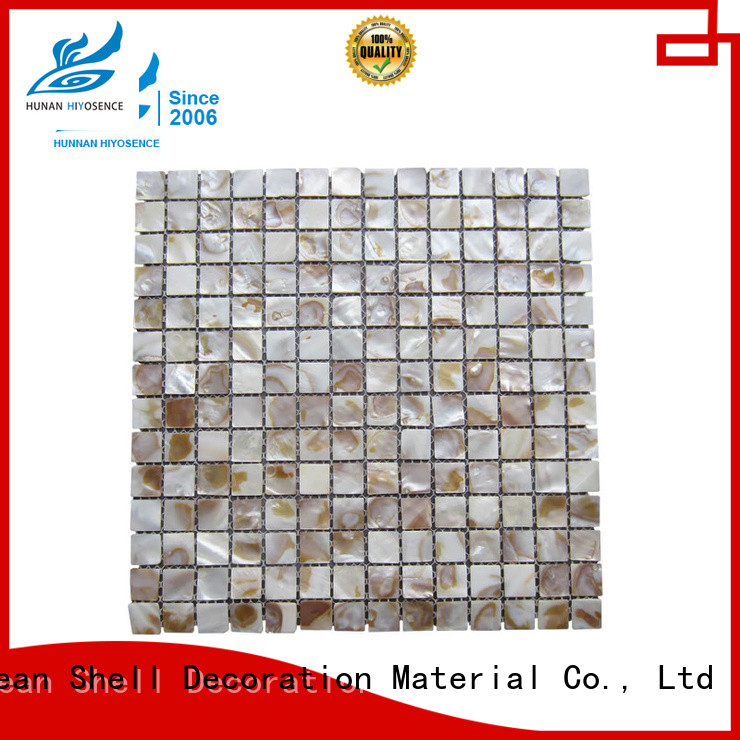 high quality white mother of pearl tile with good price for living room